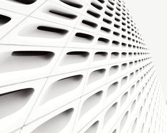 One Direction - Architecture pattern -  Black and White Photograph Print
