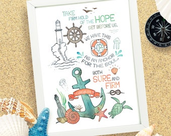 Anchor of Hope - Printable Digital Download