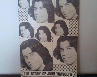Vintage John Travolta Fanzine