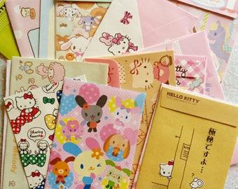 20 JUST SANRIO kawaii envelopes