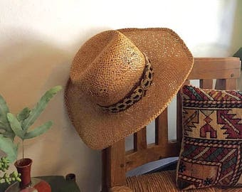 Bailey U-Rollit Straw Cowboy Hat with Woven Band, New West by Bailey Hat