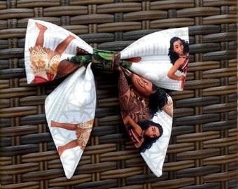 Moana Hair Bow, Moana, Sailor Hair Bow, Moana Sailor Hair Bow