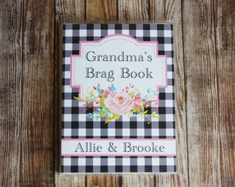 Photo Album, Custom Photo Album, Photo Album 4x6, Grandma's Brag Book, Personalized Photo Album, Mini Photo Album