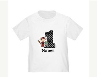 ON SALE Pirate Personalized Birthday Shirt - ANY Age