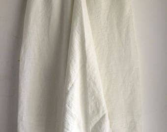 White Linen Harem Pants with Side Pockets, Washed Linen Pants, Woman, Man, Unisex, Regular, Tall, Plus size, Custom Made. Big Color Choice