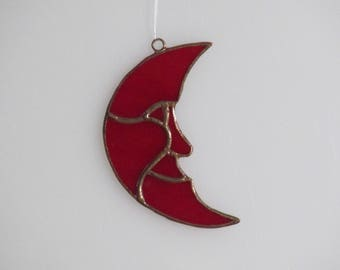 New Moon Red - small - Price Includes Shipping