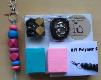 DIY Polymer Clay Key Chain Kit-19