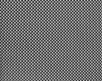 Hazel by Allison Harris, Triangles-Black by Windham Fabrics for Connecting Threads, Black and White cotton fabric, quilting fabric