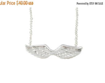 60% OFF Sale Guardian Angel Necklace, Angel Wing Necklace, Memorial Jewelry, Memorial Necklace, Sympathy Necklace, Sympathy Gifts, Remembran