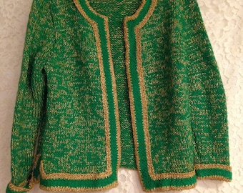 Gorgeous Handmade Vintage Sweater - Great Colors and Design