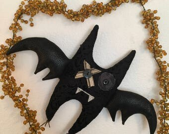 Hugs & Kisses Halloween Bat