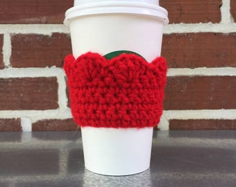 Scalloped Coffee Sleeve