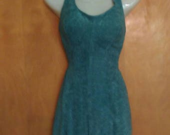 Vintage 1940s foam green pin up style swimsuit