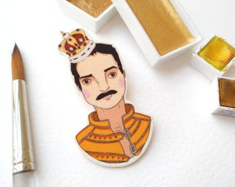 Freddie Mercury brooch
