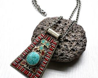 Boho jewelry, bohemian jewelry, hippy jewelry, boho necklace, silver jewelry, fashion jewelry