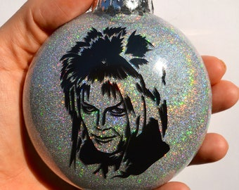 Labyrinth Jareth David Bowie Ornament ~ Christmas gift for sister, brother, mother, father, best friend, babes with power or goblin kings