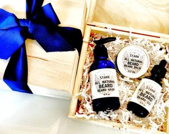 Game of Thrones Gift for Men Beard Kit Beard Oil Beard Balm Beard Wash Besrd Gift Valentine's Day Gift for him Husband Gift Beard Care Kit