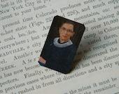 Feminist lapel pin Ruth Bader Ginsburg Womens Rights Feminist brooch