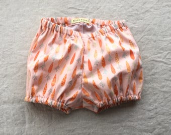 Baby girl bloomers diaper cover nappy cover bubble shorts baby shower gift