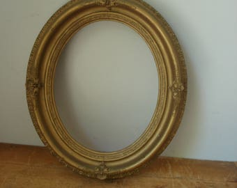 Antique Gold Frame/Decorative Gold Frame/Oval Gold Frame/Open Frame
