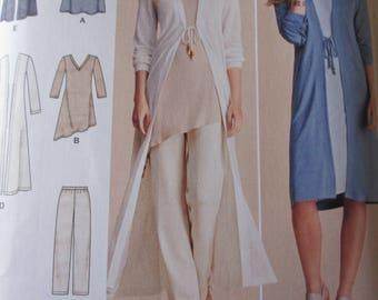 Simplicity Pattern 8059 Dress  Tunic Pant Set  Duster Dress  Sizes XXSmall-XXLarge