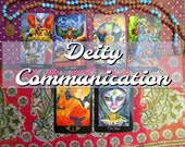 Deity Communication Spread: A Tarot & Oracle Reading for Sorting Out Your God and Goddess Relationships