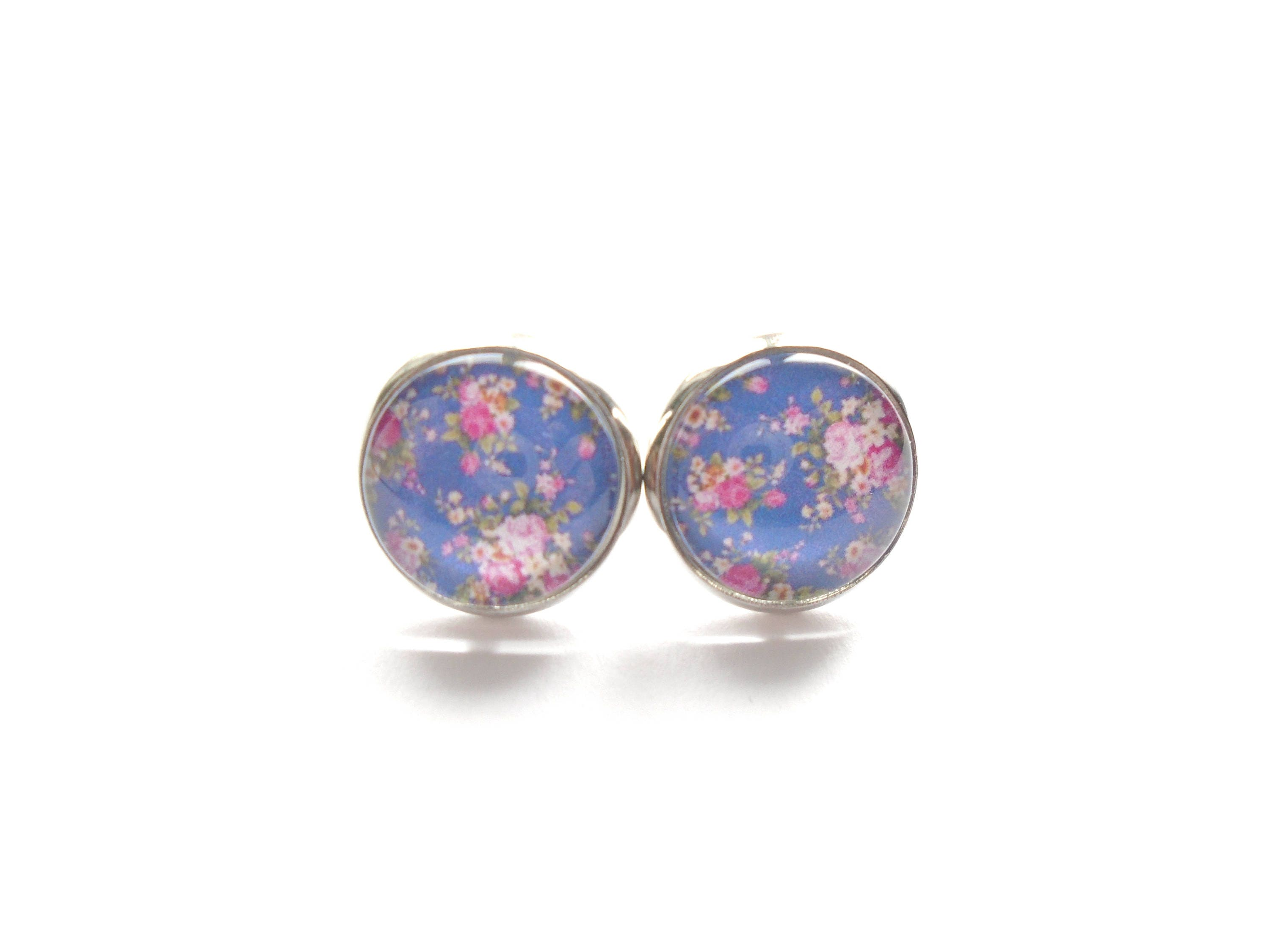 genuine natural opal fullxfull aaa il rainbow fire listing silver cabochon earrings stud studs