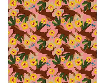 Lucky Horse Wrapping Paper 20 x 29