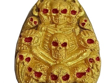 Koobaa Phorn Amulet Casino and Lotto Magic Pendant Phrai Sedtee Laanna Riagtraab Rich and Trader