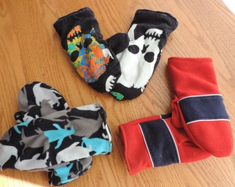 kid's mitten 8-12- choose your color
