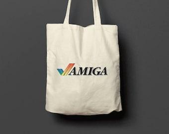 Commodore Amiga Logo Tote Bag