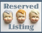Reserved for Mia - Kitsch Doll Pin Brooch Betty Peek a Boo