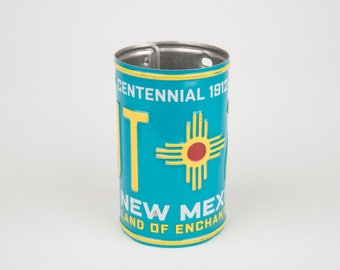 New Mexico License Plate Pencil Holder - Back to School supply - Dorm Room Decor - Corporate Gifts - Graduation Gifts - New Mexico souvenir