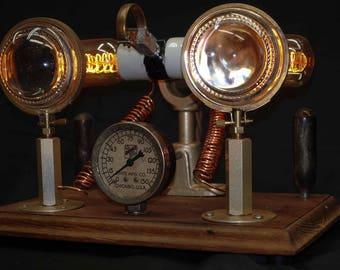 Antique Steam Punk Lamp