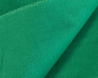 Corduroy Fabric / Green Corduroy Fabric / Cotton Corduroy Fabric  / Green Corduroy Fabric / Green Corduroy