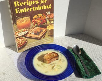 Vintage Cookbook Recipes for Entertaining by Better Homes and Gardens
