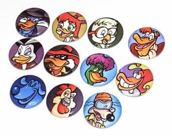 Darkwing Duck Button Set