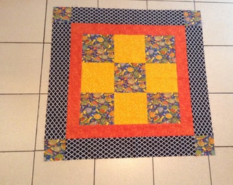 Turtle Play Time, Toddler Quilt top, unfinished quilt top