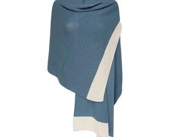 Alpaca and silk shawl