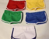 RESERVED LISTING Gym Shorts for Boy Story Doll