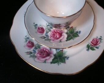 Duchess Tea Cup Set, Fine Bone China, three piece china, replacements, England Tea Set