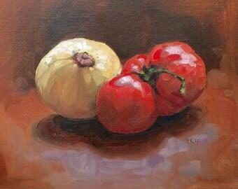"""Still life painting original oil 8x10"""""""