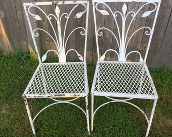 Pair of vintage Salterini chairs