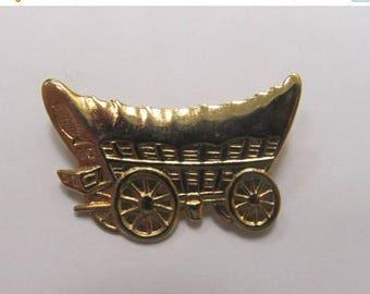 ON SALE Vintage Conestoga Wagon Pin Item K # 2231