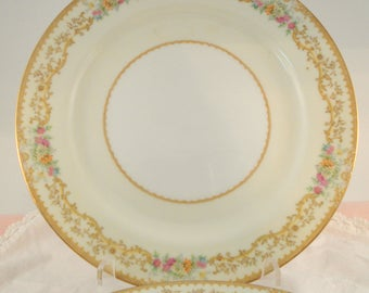 Vintage Dinner Plates Noritake Elvira Floral Dinner Plates Set of 4  Shabby Cottage Chic Vintage Wedding Bridal Shower Tea Party