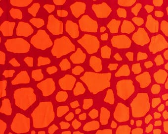 CORDUROY Fabric-Hot Pink and Orange Giraffe Print Corduroy Fabric-Fabric by the Yard-Fabric-Apparel Fabric-Cotton corduroy-juvenile fabri