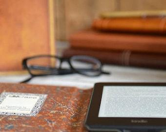 20% OFF SALE Classic Hardback Book Case for Kindle, eReader & Tablet