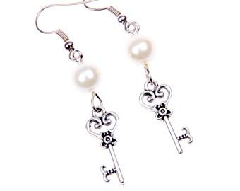 Key Alice Earrings
