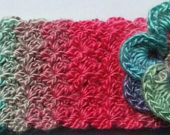 Crochet adult headband -earwarmer
