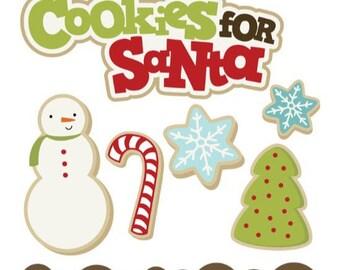 Christmas die cuts, christmas embellishments, Christmas Scrapbook, scrapbook embellishments, Christmas cookie die cuts, Holiday scrapbook